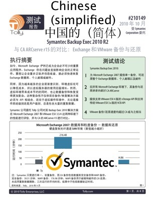 Symantec Simplified Chinese Localization Example