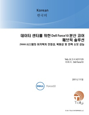 Dell Force10  - Korean Localization   Example